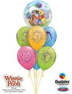 Bukiet 243 Winnie the Pooh & Friends Qualatex #33086 18710-6
