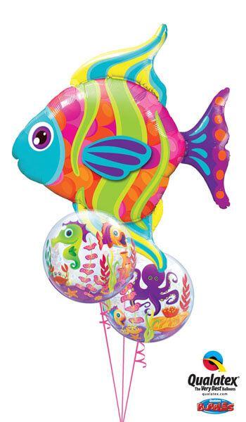 Bukiet 235 Fashionable Fish Qualatex #16448 27499-2