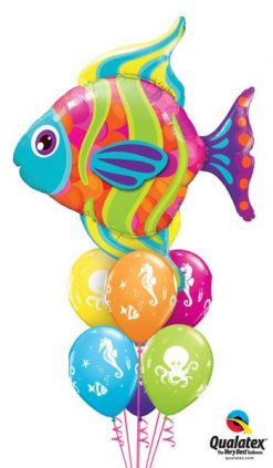 Bukiet 238 Fashionable Fish Qualatex #16448 17944