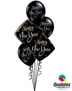 Bukiet 480 New Year Sparkle Qualatex #27673-2 33530-3