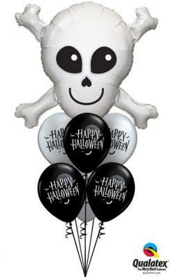 Bukiet 68 Happy Skull Qualatex #17623 60152-6