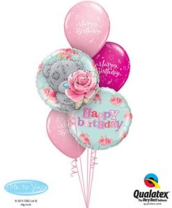 Bukiet 219 Me To You - Tatty Teddy Birthday Roses Qualatex #20760-2 17935-3