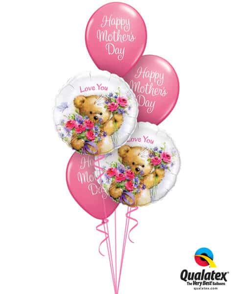 Bukiet 586 BEARY Special Mother Qualatex #90589-2 13326-3
