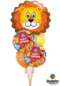 Bukiet 176 Lovable Lion Qualatex #16154 14182-2 46110-2