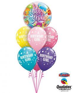 Bukiet 25 Birthday Surprise Qualatex #65407 20266-6