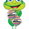 Bukiet 171 Funny Frog Qualatex #16124 14687-2 91539-2