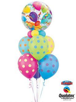 Bukiet 20 Birthday Surprise Qualatex #65407 10240-6