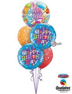 Bukiet 200 Birthday Surprise Qualatex #65407 35353-2 87291-2