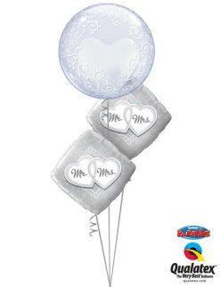 Bukiet 156 Deco Bubble Fancy Filigree Qualatex #13693 25317-2