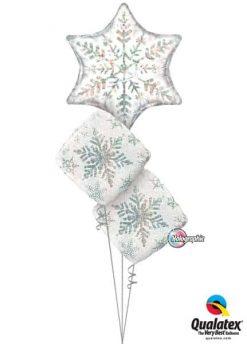 Bukiet 469 Dazzling Snowflake Qualatex #20263 40091-2