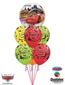 Bukiet 441 Disney Pixar Lightning McQueen & Mater Birthday Qualatex #14759 18706-6