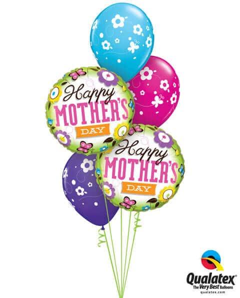 Bukiet 253 Mother's Day Springtime Qualatex #13288-2 41873-3