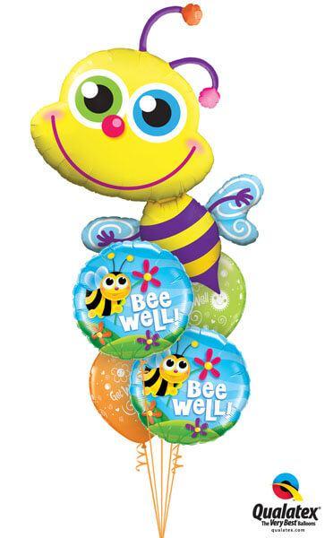 Bukiet 239 Beaming Bee Qualatex #11577 16998-2 87198-2