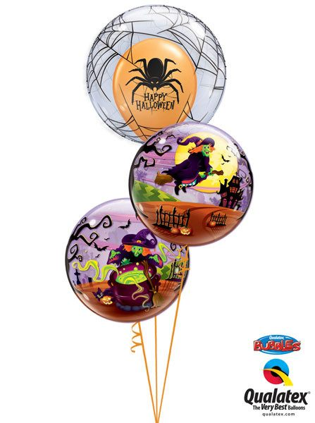 Bukiet 73 Deco Bubble Spider's Web Qualatex #17392 50544-2