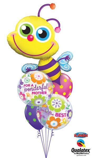 Bukiet 263 Beaming Bee Qualatex #11577 11538-2 10240-2