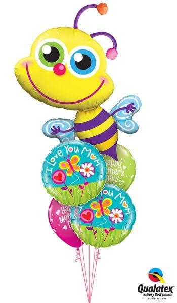 Bukiet 257 Beaming Bee Qualatex #11577 11842-2 11976-2