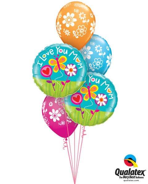 Bukiet 567 Mother's Day Springtime Qualatex #11842-2 41873-3
