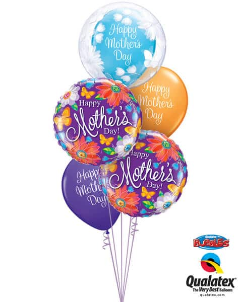 Bukiet 573 Mother's Day Bubble Qualatex #11560 24082-2 13326