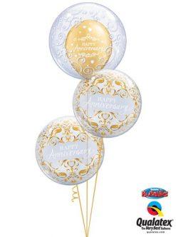 Bukiet 155 Deco Bubble Fancy Filigree Qualatex #13693 16660-2