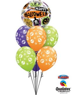 Bukiet 355 Halloween Messages & Icons Qualatex #43433 46510-6