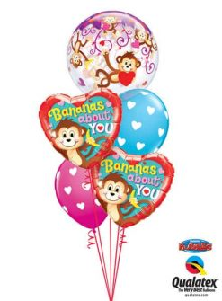 Bukiet 330 Love Monkeys Qualatex #40193 21841-2 40863-2