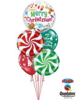 Bukiet 475 Christmas Candies & Treats Qualatex #43434 64329 64333 44781-2
