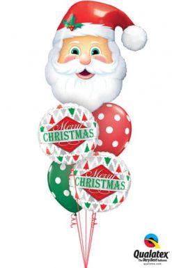 Bukiet 476 Jolly Old Saint Nick Qualatex #20566 43496-2 33231-2