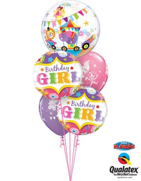 Bukiet 282 Circus Parade Qualatex #25243 25228-2 45653-2