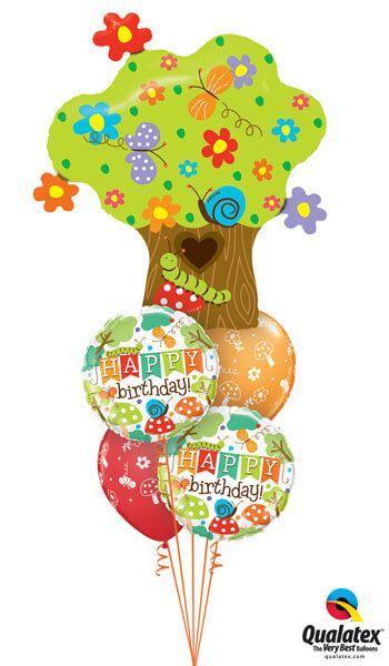 Bukiet 280 Enchanted Tree in Bloom Qualatex #26454 25181-2 44791-2