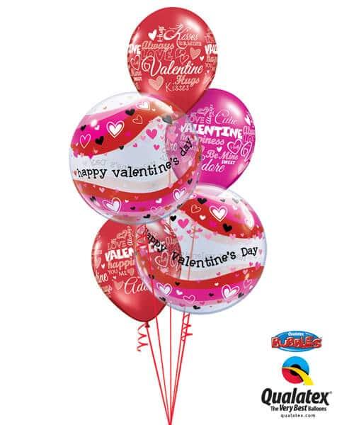Bukiet 718 Valentine's Heart Waves #21889-2 40303-3