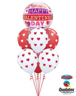 Bukiet 679 Valentine's Day Stripes #21890-1 76928-6
