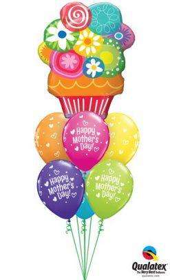 Bukiet 595 Happy Mother's Day Flowers Qualatex #47565 11976-6