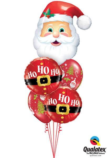 Bukiet 602 Santa's On His Way Qualatex #20566 52120-2 40571-2