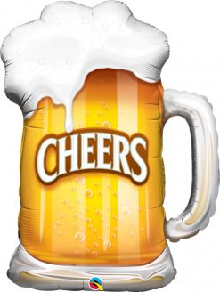 "35"" / 89cm Cheers! Beer Mug Qualatex #23488"