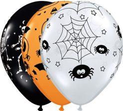 "11"" / 28cm Spooky Assortment Qualatex #33869-1"