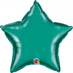 20″ / 51cm Solid Colour Star Teal Qualatex #36576