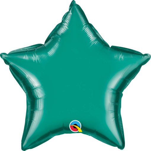 20″ / 51cm Solid Colour Star Teal Qualatex #36576