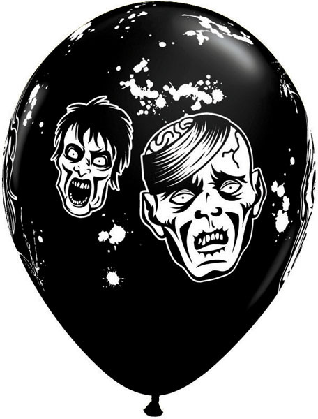 "11"" / 28cm 6szt Zombies Qualatex #20004"