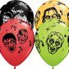"11"" / 28cm Zombies Qualatex #36917-1"