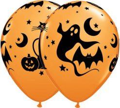 "11"" / 28cm Fun & Spooky Icons Qualatex #40071-1"