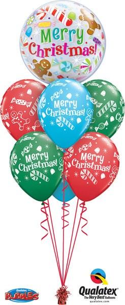 Bukiet 470 Christmas Candies & Treats Qualatex #43434 44781-6
