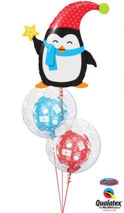 Bukiet 600 Penguins & Presents Galore Qualatex #44232 52004-2 44649-2