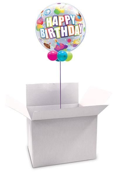 """22"""" / 56cm Poczta Balonowa Classic na Urodziny z Balonem Bubble"""