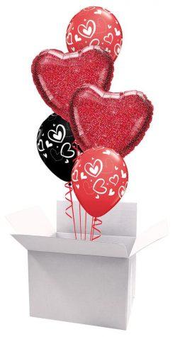18″ / 46cm Poczta Balonowa Love Bukiet Premium