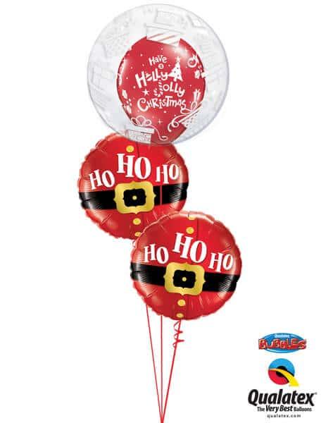 Bukiet 608 Ho Ho Ho! Christmas Qualatex #52004 52120-2 40562