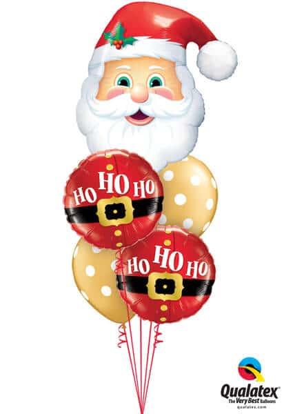 Bukiet 607 Santa's On His Way Qualatex #20566 52120-2 40571-2
