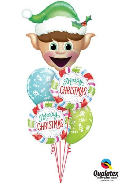 Bukiet 619 Merry Little Christmas Qualatex #52935 18953-2 50586-2