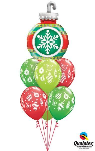 Bukiet 625 Snowflake Ornament Qualatex #52940 53428-2