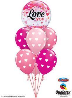 Bukiet 701 Bubbling Hearts Valentine #54604 27051-6
