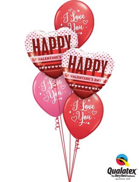 "Bukiet 702 Happy Valentine's ""I Love You"" #54832-2 55246-3"